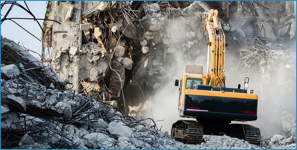 Услуги по сносу зданий и сооружений