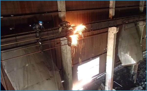 Услуги демонтажу металлоконструкций