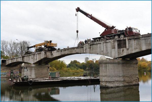 Услуги по сносу мостов